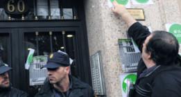 """Escraches de antidisturbios como los de los """"imitadores del matonismo de ETA"""""""