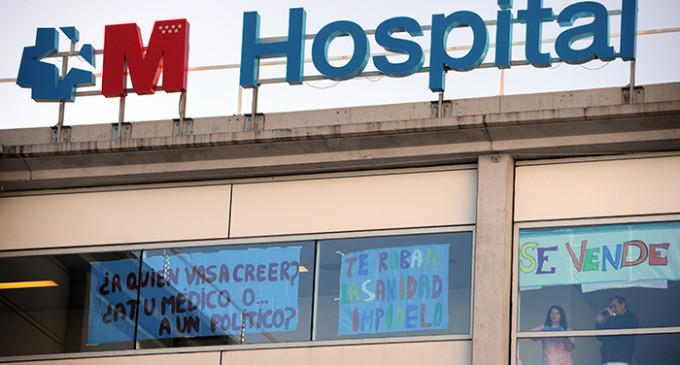 Una de cada tres camas de hospitales madrileños está en manos privadas