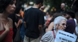 Segundo 'escrache' feminista contra el Gobierno