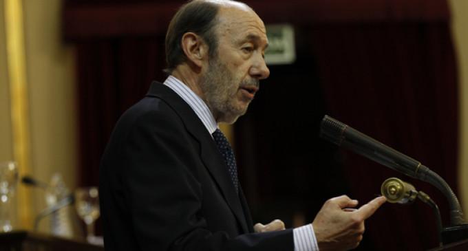 """Rubalcaba: """"Si Rajoy no comparece, plantearemos una moción de censura"""""""