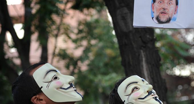 El PP denuncia a Anonymous por publicar sus cuentas