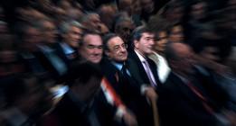 La cúpula que encumbró a Florentino en el Real Madrid, acribillada por la corrupción