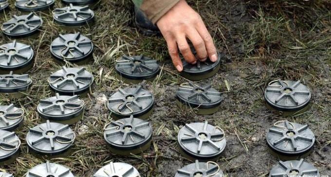 Una empresa que fabricaba minas se lucra ahora destruyéndolas