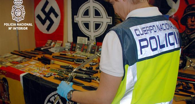 La policía detiene al responsable de un blog de contenido neonazi