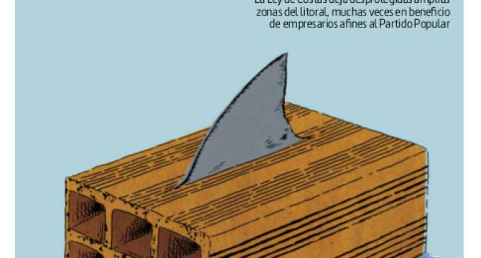 La Marea publica un especial de verano dedicado a la Ley de Costas