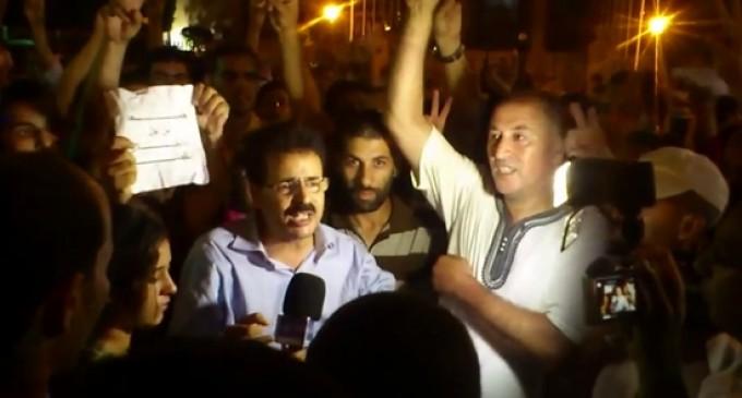 Las protestas en Rabat contra el indulto del pederasta español acaban en cargas policiales