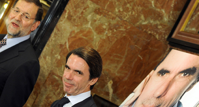 "Aznar afea a Rajoy su ""silencio"" sobre Cataluña"