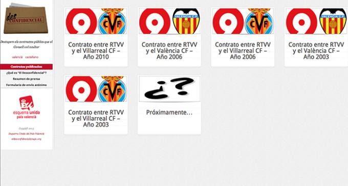 EUPV, insumisa a la confidencialidad, publica contratos de la Generalitat Valenciana