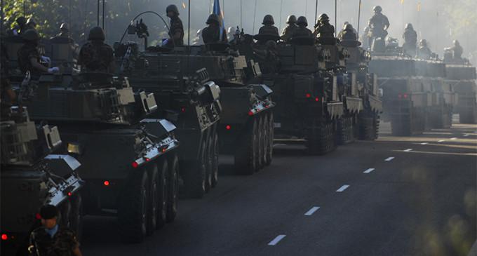 El ejército que quiere Podemos