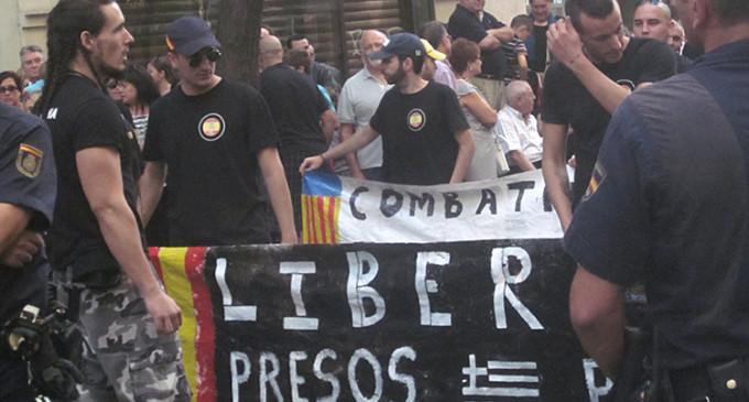 Apoyo a Amanecer Dorado en el día del País Valenciano