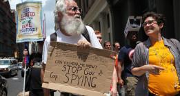 Miles de personas protestan en Washington contra el espionaje de su Gobierno