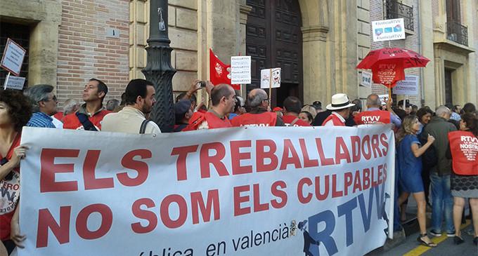 """Los sindicatos piden la anulación ERE de Canal Nou por """"ilógico"""""""