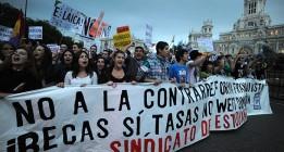 Los estudiantes piden una huelga de tres días de toda la comunidad educativa