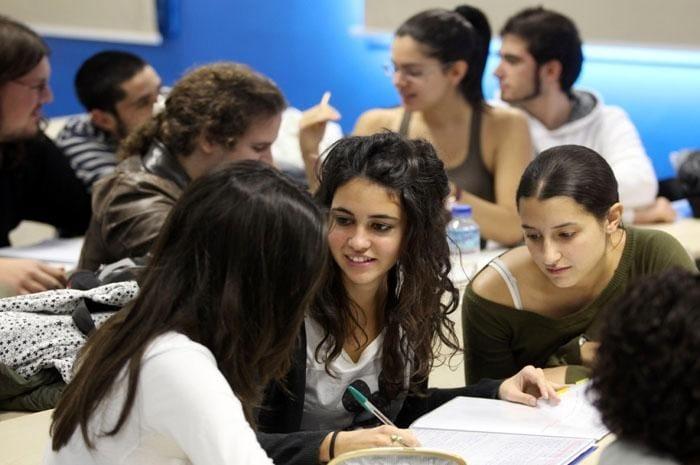 Estudiantes en la UAM I La Marea