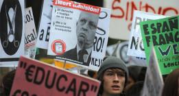 Los estudiantes de la Universidad Complutense declaran a Wert y Figar personas 'non gratas'