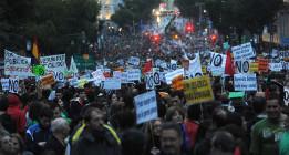 Las mareas pretenden despedir el año con manifestaciones conjuntas