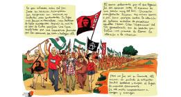 'Somonte', el reportaje gráfico de un símbolo de la lucha jornalera