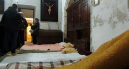 Encerrados en la concatedral de Mérida para combatir la pobreza en Extremadura