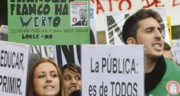 2013: Un año de 'mareas' vivas contra la corrupción y los abusos de poder