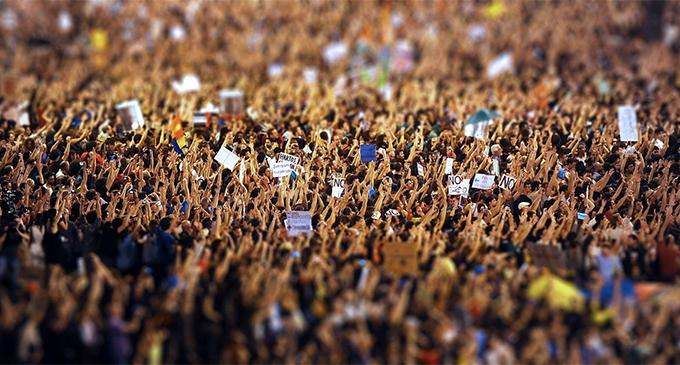 Manifestación del 15-M I La Marea