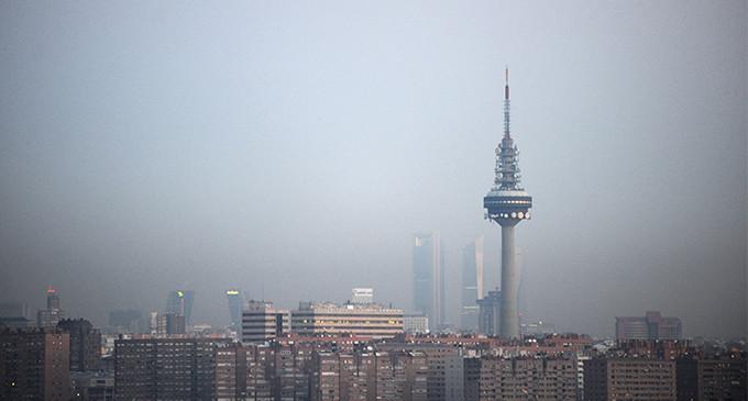 El clima provoca que suba la contaminación del aire en Madrid en 2015