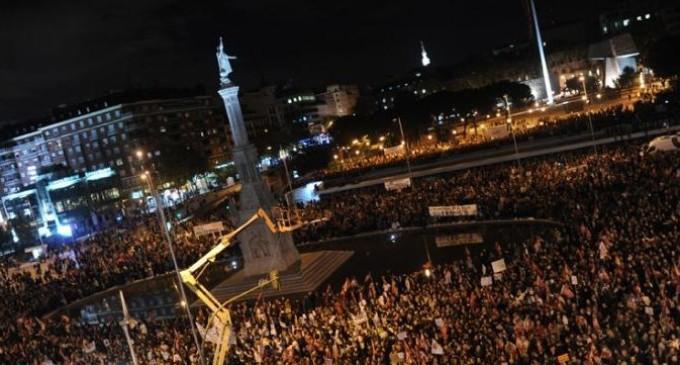 'The Economist' sitúa a España entre los 46 países con riesgo alto de protestas en 2014