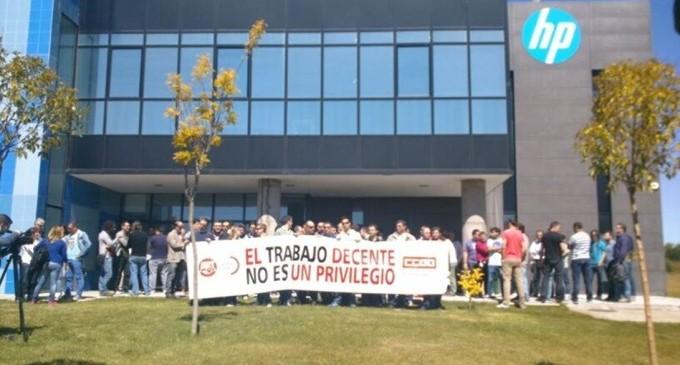 Condena a HP por boicotear la huelga de sus trabajadores el 14-N
