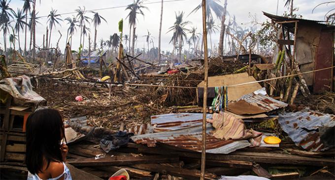 Apartando la mirada del tifón Haiyán