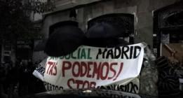Ocupado un edificio en el centro de Madrid para dar cobijo a 11 familias desahuciadas
