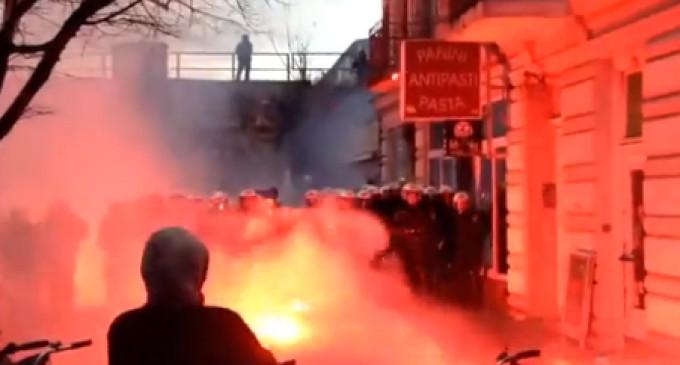 Hamburgo, en 'estado de excepción' por las protestas en defensa de un centro social