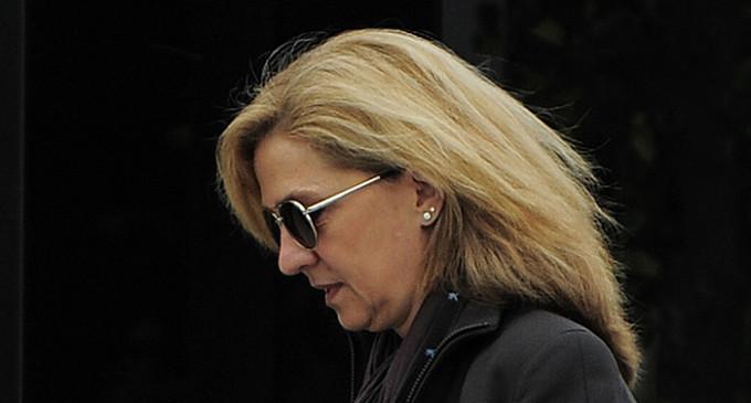 La infanta Cristina, imputada por blanqueo y delito fiscal