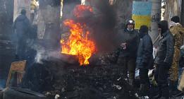 La ultraderecha capitaliza las protestas en Ucrania