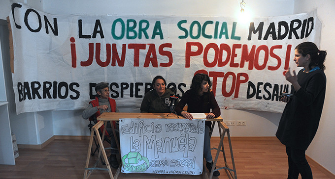 El bloque de viviendas La Manuela negociará un alquiler social con Caixabank