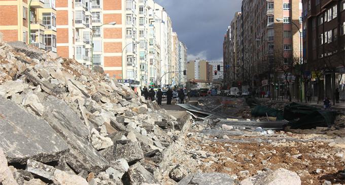 El alcalde de Burgos paraliza de forma temporal las obras en Gamonal