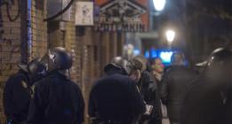 Despliegue policial en Lavapiés para evitar un acto de apoyo a la izquierda abertzale