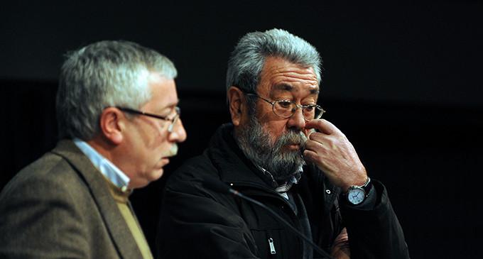 UGT y CCOO deberán devolver 640.000 euros de subvención correspondientes a otros sindicatos