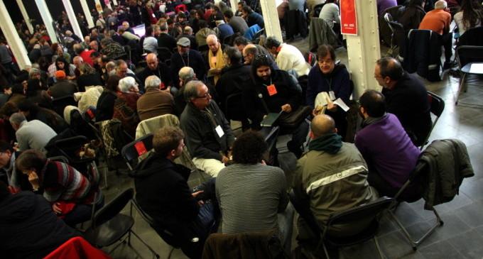 Unas 1.700 personas responden al llamamiento de ICV-EUiA para construir un frente de izquierdas