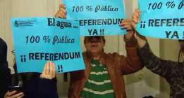 <em>Contra la privatización del agua de Alcázar</em>