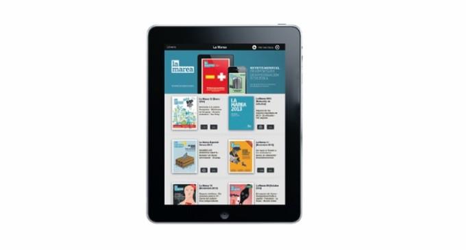 La revista mensual de La Marea ya está disponible para iPad y iPhone