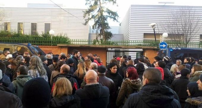 Al menos seis manifestantes heridos tras una carga policial en Valladolid