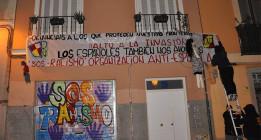 Democracia Nacional reivindica el ataque contra la sede de SOS Racismo en Madrid