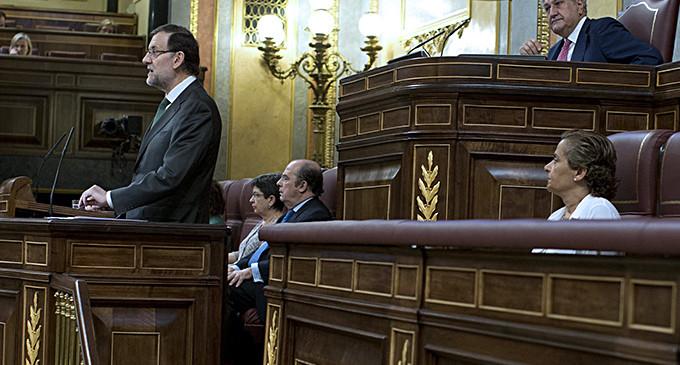 Rajoy opta por un discurso triunfalista y promete bajadas de impuestos