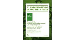 Mayor Zaragoza presenta el libro 'La Uni en la calle: libro de textos'