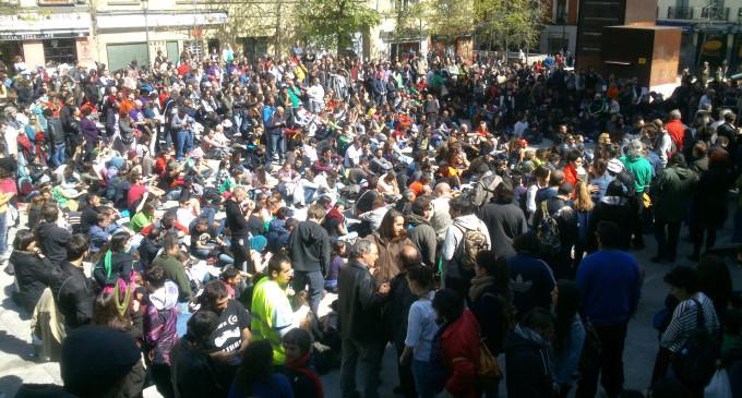 La asamblea posterior a las marchas convoca una concentración en Sol