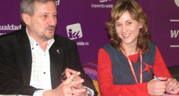 Willy Meyer y Marina Albiol, la doble candidatura de IU para las europeas