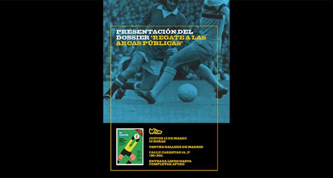 Este jueves, La Marea presenta su especial sobre fútbol y corrupción