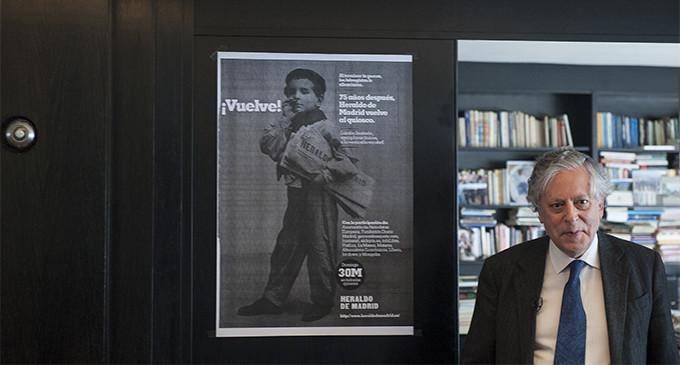 Heraldo de Madrid llega a los quioscos, 75 años después de su incautación