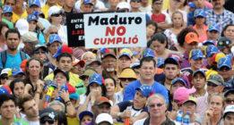 """Amnistía insta al diálogo en Venezuela ante la """"catastrófica crisis humanitaria"""""""