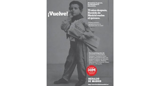 Vuelve el Heraldo de Madrid