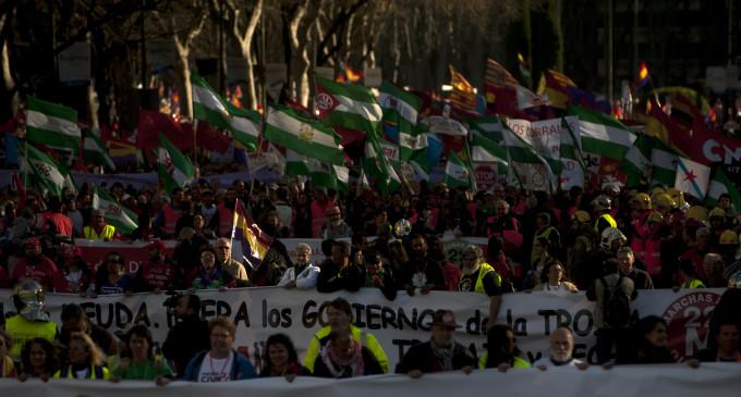 Las Marchas de la Dignidad salen este sábado a la calle en decenas de ciudades